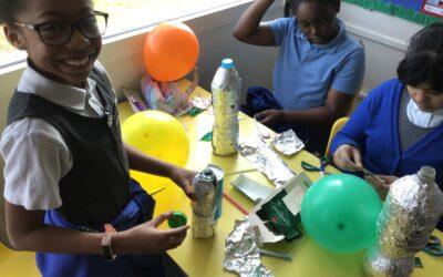 Lunar Fun in Year 5 for Science Week